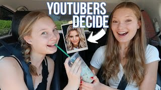 YOUTUBERS Pick My Starbucks For a WEEK