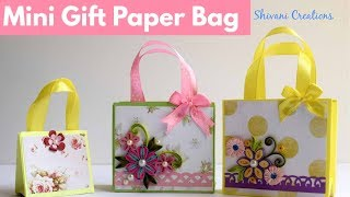 How to make Paper Bag/ Mini Gift Paper Bags
