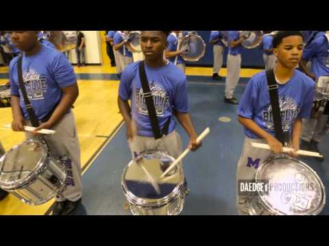 McKinley High School BOTB 2016 Drum Section Battle