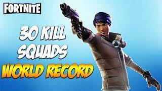 30 KILL SQUADS WIN - Fortnite Battle Royale - INSANE GAME! - Avxry