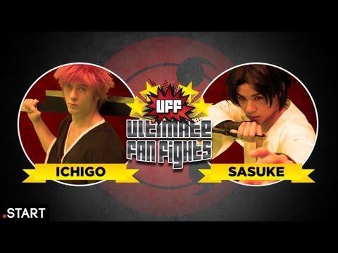Naruto vs Bleach (Sasuke vs Ichigo) In Real Life! Ultimate Fan Fights Ep. 6