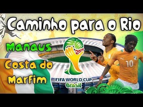 2014 FIFA World Cup Brazil - Caminho Para o Rio #01 - Costa do Marfim!