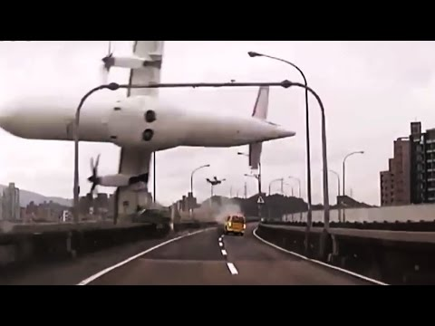 Top 15 SHOCKING Plane Crash Videos (Crashes Caught on Camera and GoPro)