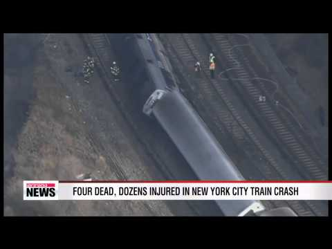 Four dead, dozens injured in New York City train crash