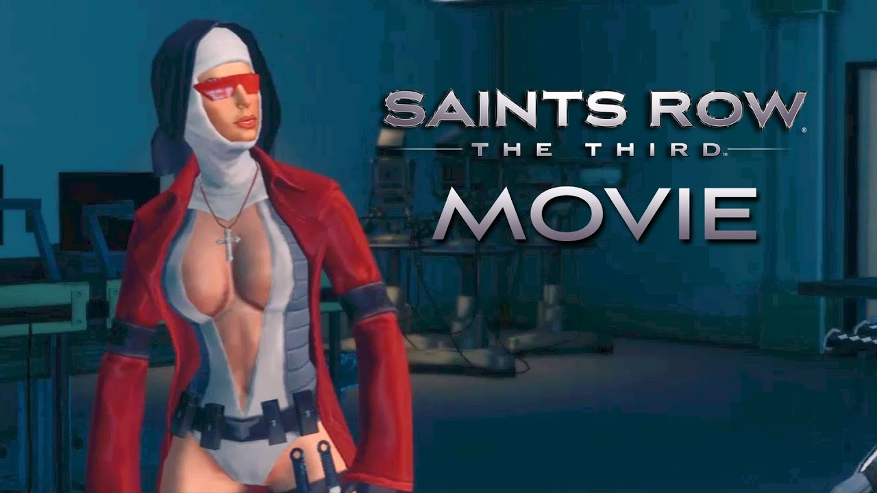 Saints row 3: naked female character erotic fetish chicks