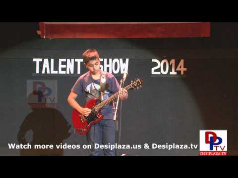 Part-15 Arjun playing guitar at Talent Show sponsored by Mallige...