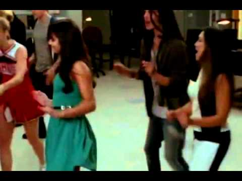 Glee - I Wanna Dance with Somebody (Who Loves Me) (Full Performance) (Official Music Video)