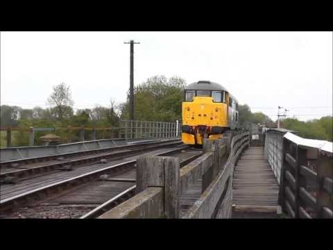 Nene Valley Railway Spring Diesel Gala Sunday 19th May 2013 Part 2