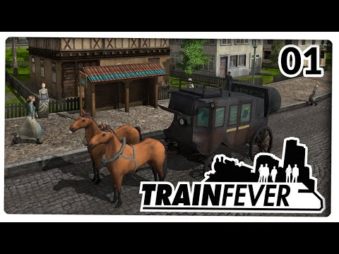 TRAIN FEVER #01 [GER/HD] Transport Tycoon 2014 ist da!