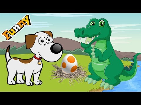 Dogs Cartoons for Children - Funny Animals Cartoons For Children 2017 - Beagledog and Crocodile