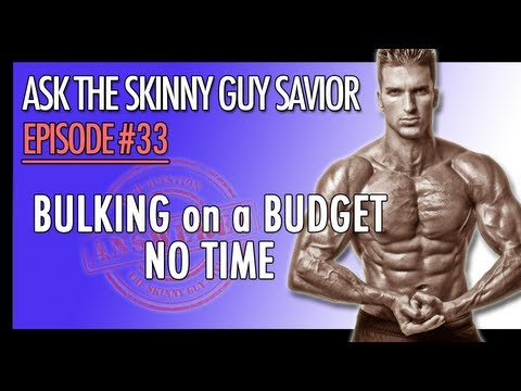 How to Gain Weight Fast? Bulking Up On A Budget? No Time To Gain Muscle Mass?