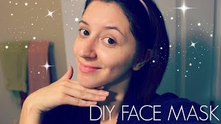 HOW TO: DIY HONEY FACE MASK | ACNE & BLEMISHES FREE