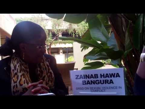 Interview with Zainab Hawa Bangura SRSG on April 4, 2013