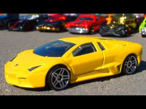 Hot Wheels Lamborghini Reventon Diecast Car by Mattel – Auto Racing Toys Cars Collection