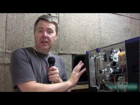 A look inside a Digital Cinema Projector