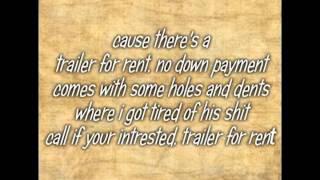 Trailer For Rent Pistol Annies