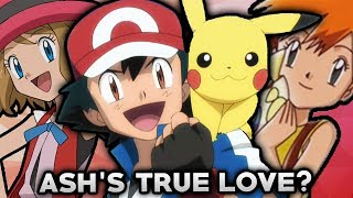 5 Pokemon Theories That Explain Who Ash Ketchum Is In Love With