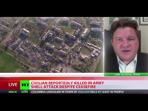 'Any time US official visits Ukraine, some attack happens afterward'