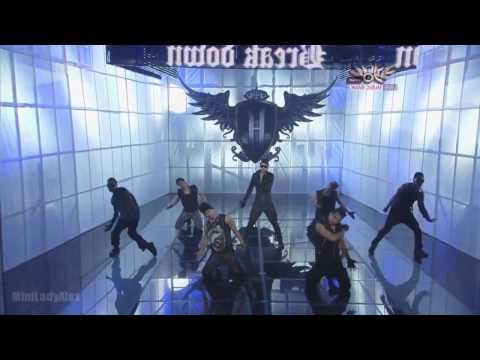 Kim Hyun Joong - Break Down Full Mirrored Dance video