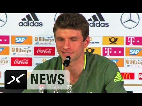 "Thomas Müller: ""EM-Finale? Der Sprit ist da"" | Fußball-EM 2016 in Frankreich"