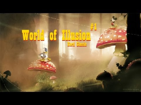 World of Illusion starring Mickey Mouse and Donald Duck - #1 - Malditos Dragões e Títulos Grandes