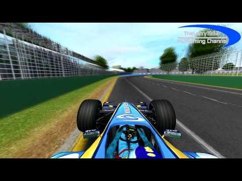 rFactor F1 2005 by RMT - G.Fisichella in Melbourne