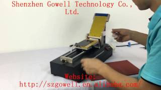 3 in 1 glue remover machine--From Gowell