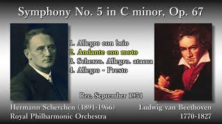 Beethoven: Symphony No. 5, Scherchen & RPO (1954) ベートーヴェン 交響曲第5番 シェルヘン