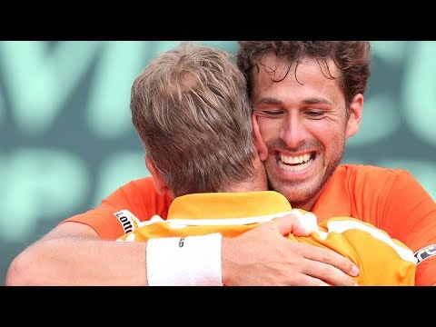LIVE | Davis Cup: Frankrijk - Nederland (dag 3) | 04/02/2018