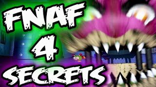 FNAF 4 Secrets & Mysteries || FNAF 4 Explained || Five Nights at Freddy's 4 Secrets & Mysteries