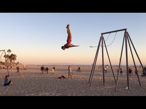 Fun People at Original Muscle Beach (OMB) ~ Part 2
