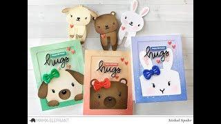 Mama Elephant Designer Series | Book Buddy Pop Up Cards + Bookmarks