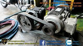 Máy rửa xe áp lực cao - Tận dụng lại Motor cũ khi đầu bơm bị hỏng