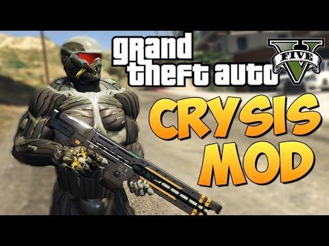 GTA 5 Mods : CRYSIS MOD (ОБЗОР ЭПИК МОДА)