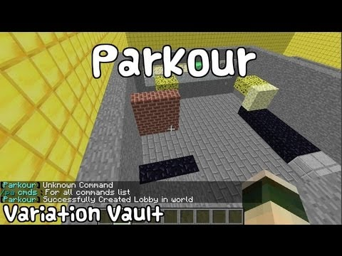 Minecraft Bukkit Plugin - Parkour - The best parkour mini game with block effects!