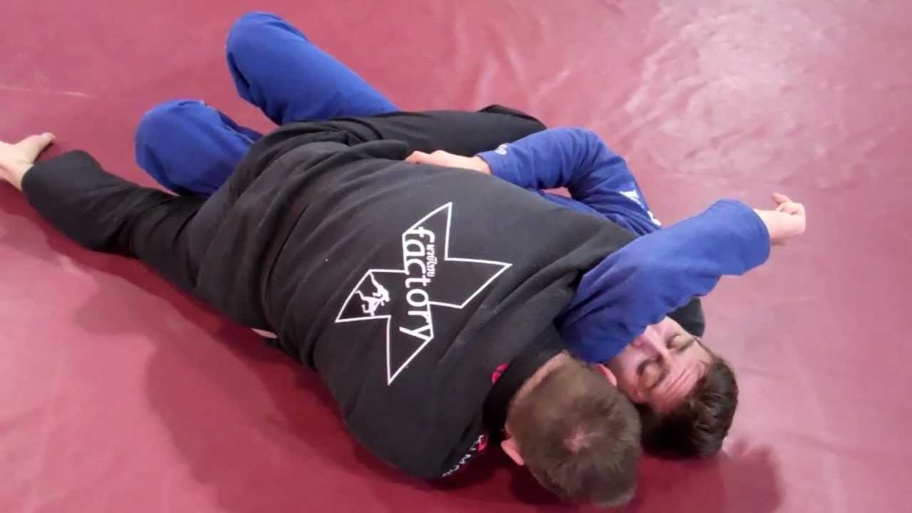 Gracie Triangle Choke Bjj Arm Triangle Choke And