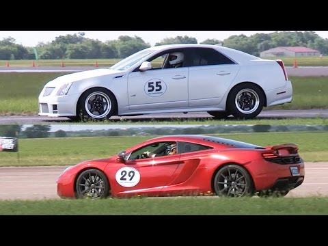 McLaren Battles CTS-V
