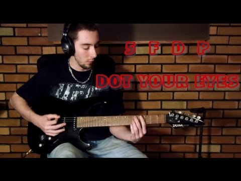 Five Finger Death Punch - Dot Your Eyes (guitar Cover) video