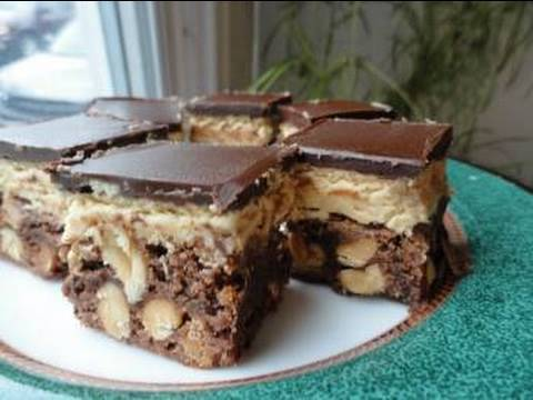 Recipes Using Cake Mixes: #10 Chocolate Peanut Butter Fudge Bars