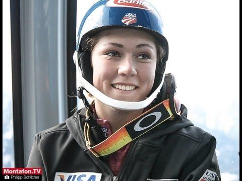 US-Skistar Mikaela Shiffrin holt sich am Hochjoch den letzten Schliff