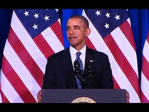 President Obama Speaks on U.S. Intelligence Programs