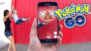 Capturando Pokeméidas na Rua - Pokemon GO Gameplay na Vida Real