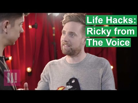 Life Hacks With The Voice Coaches: Ricky