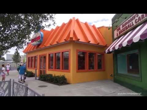 The Simpsons - Springfield Fast Food Boulevard Tour at Universal Studios Florida Orlando