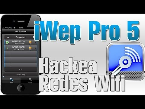iWep Pro 5 | hackea las redes WiFi para iphone ipod touch ipad