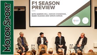 2019 F1 Season Preview with Damon Hill and Karun Chandhok