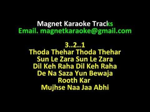 Magnet Karaoke Tracks With Lyrics Aa Jao Meri Tamanna video