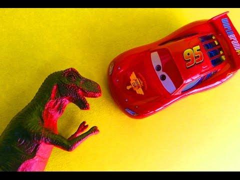 Мультики про Машинки Все серии подряд Тачки Молния Маквин Динозавры и Драконы