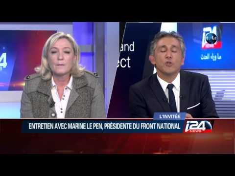 Entretien exclusif avec Marine Le Pen