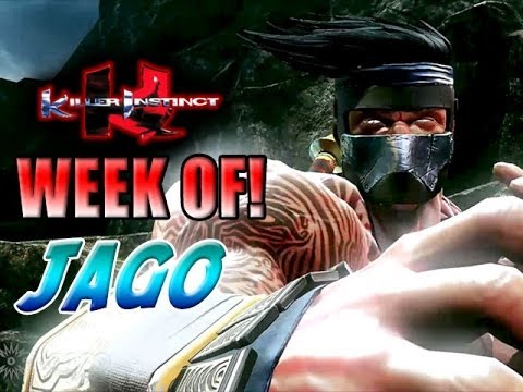 NEVER GIVE UP - Week Of! Jago Part 2 (Killer Instinct)
